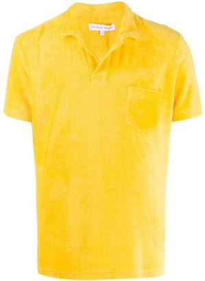 Orlebar Brown open collar T-shirt