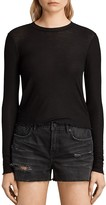 AllSaints Bea Cropped Tee