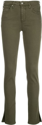 AG Jeans Faye mid-rise skinny jeans