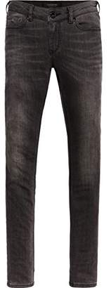 Scotch & Soda Maison Women's La Bohemienne-Jungle Grey Slim Jeans, 1917, W27/L32