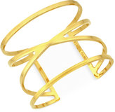Vince Camuto Gold-Tone Cut-Out Cuff Bracelet