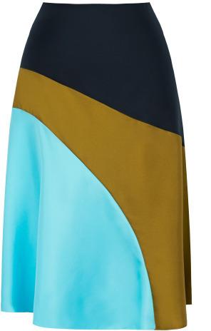 Jonathan Saunders Preorder Una Flared Panel Skirt