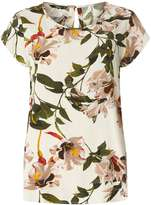 Only **Only Multi Coloured 'Nova' Floral Shell Blouse