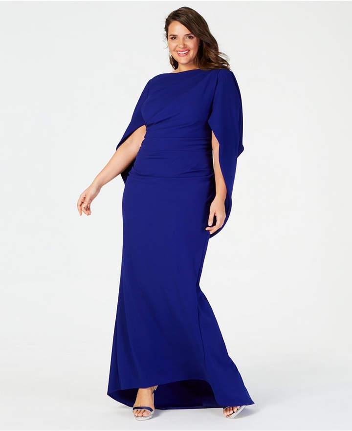 Betsy & Adam Blue Plus Size Dresses - ShopStyle