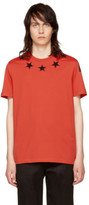 Givenchy Red Stars 74 Shirt