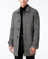 MICHAEL Michael Kors Men's Slim-Fit Glen Plaid Overcoat