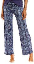 PJ Salvage Bandanna-Print Jersey Sleep Pants