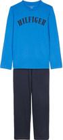 Tommy Hilfiger Logo cotton pyjamas 4-16 years