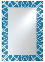 Decorative Wall Mirror Breeze Point Bright Blue