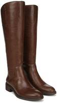Franco Sarto Leather Wide Calf High Shaft Boots- Becky