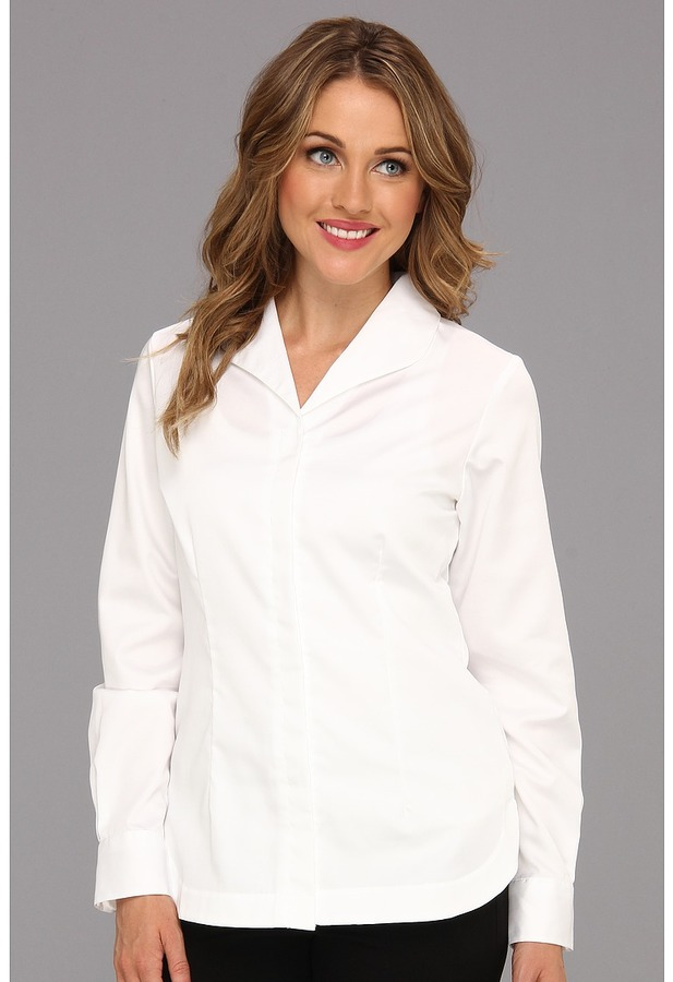Pendleton Wrinkle-Resistant Fundamental White Shirt (White Shirting) - Apparel
