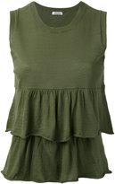 P.A.R.O.S.H. Cerise tank - women - Cotton - XS