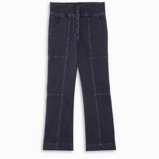 Ulla Johnson Black Ellis cropped jeans