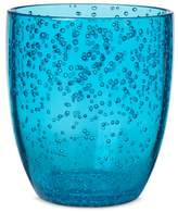 Plastic 13.5oz Stemless Wine Glass Blue