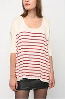 Boxy Stripe Pullover Sweater