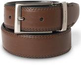 Nautica Saddle Leather Reversible Belt