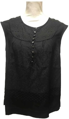 Marc by Marc Jacobs Black Silk Top for Women