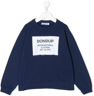 Dondup Kids Logo Patch Sweater