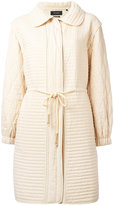 Isabel Marant Boyd coat - women - Cotton - 36