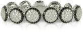 Forzieri Azhar Two Tone Cubic Zirconia & Sterling Silver Bracelet