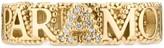 Gucci L'Aveugle Par Amour ring with diamonds