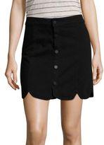 Paige Francesca Scalloped Skirt