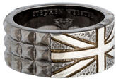 Stephen Webster Alchemy in the UK Onyx Union Jack Ring