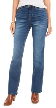 Style&Co. Style & Co Petite Power Sculpt Bootcut Jeans, Created for Macy's
