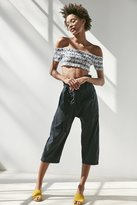 Silence & Noise Silence + Noise Lennie Cropped Paperbag Pant