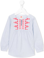 American Outfitters Kids - embroidered peasant blouse - kids - Cotton - 4 yrs