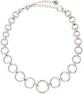 Lydell NYC Open-Link Choker Necklace, Silver