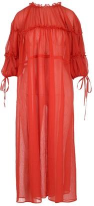 REJINA PYO Balloon Sleeve Midi Dress
