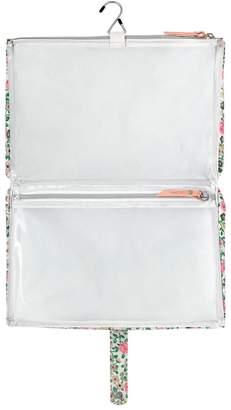 Cath Kidston Hedge Rose 2 Part Zipped Wash Bag