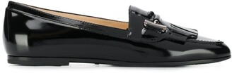 Tod's polished T loafers