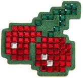 Anya Hindmarch Cherries Crystals Suede Sticker