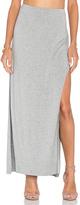 Bella Luxx Side Split Maxi Skirt