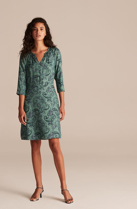 Rebecca Taylor Tailored Margaux Paisley Dress