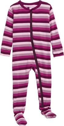 Kickee Pants Stripe Jersey Footie