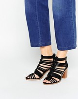 Oasis Strappy Block Heeled Sandal