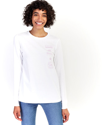 Roots Womens Stacked Long Sleeve T-Shirt