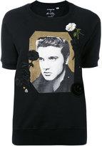 Coach Elvis print sweatshirt - women - Cotton - XS