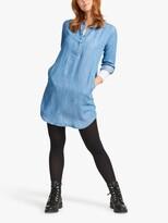 Thumbnail for your product : Fat Face FatFace Harper Denim Shirt Midi Dress, Blue