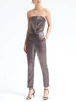 Banana Republic Heritage Strapless Cascade Jumpsuit