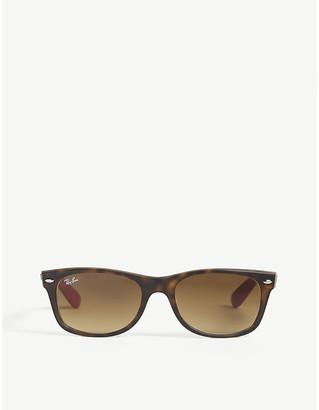Ray-Ban Mens Matte Havana Rb2132 Square Sunglasses