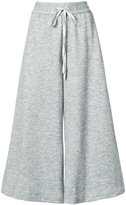 ADAM by Adam Lippes Luxe jersey culottes with drawstring waist