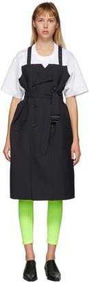 Junya Watanabe Navy Trench T-Shirt Dress
