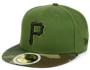New Era Boys' Pittsburgh Pirates Authentic Collection 59FIFTY Fitted Cap