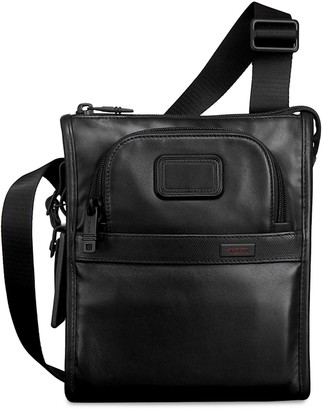Tumi Alpha 2 Small Leather Pocket Bag