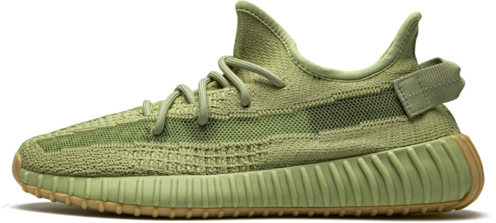 Adidas Yeezy Boost 350 V2 'Sulfur' Shoes - Size 4
