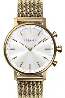 Unisex Kronaby CARAT Alarm Watch A1000-0716